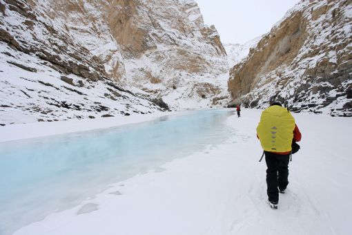 Chadar Trek In Ladakh