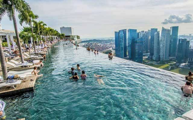 Infinity Pool at the Marina Bay Sands