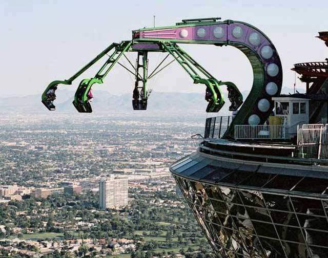 Insanity at the Stratosphere