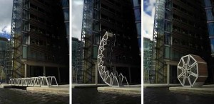 Rolling Bridge, London