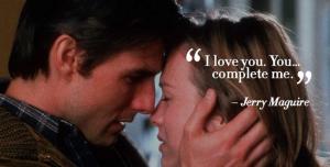 jerry maguire romantic dialogye
