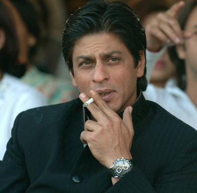shshrukh khan chain smoker