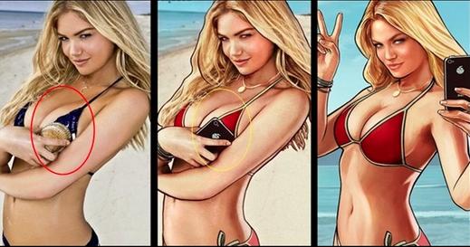 Shelby Welinder gta 5 bikini girl