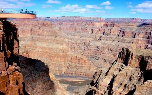 Skywalk at the Grand Canyon