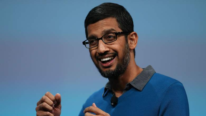 Sundar Pichai is the new CEO of Google.