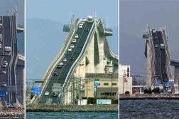 The Eshima Ohashi Bridge, Japan