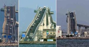 The Eshima Ohashi Bridge, Japan