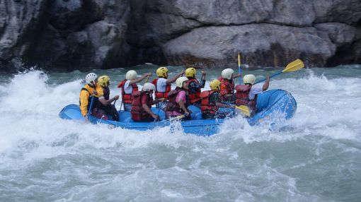 Water Rafting In Rishikesh