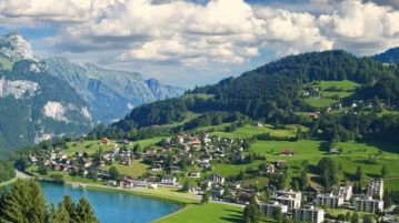 DDLJ shooting locations in switzerland