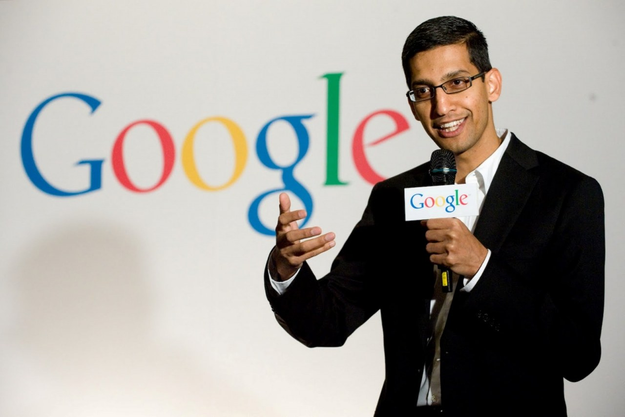 sundar pichai google ceo new