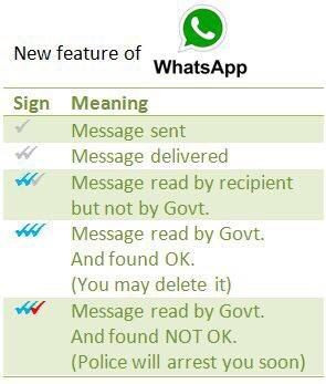 deleting whatsapp messages is ban by indian government
