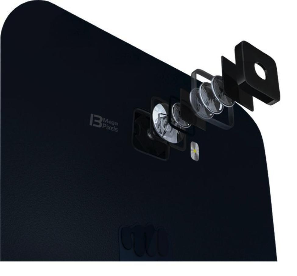 Micromax Canvas Knight A350 camera