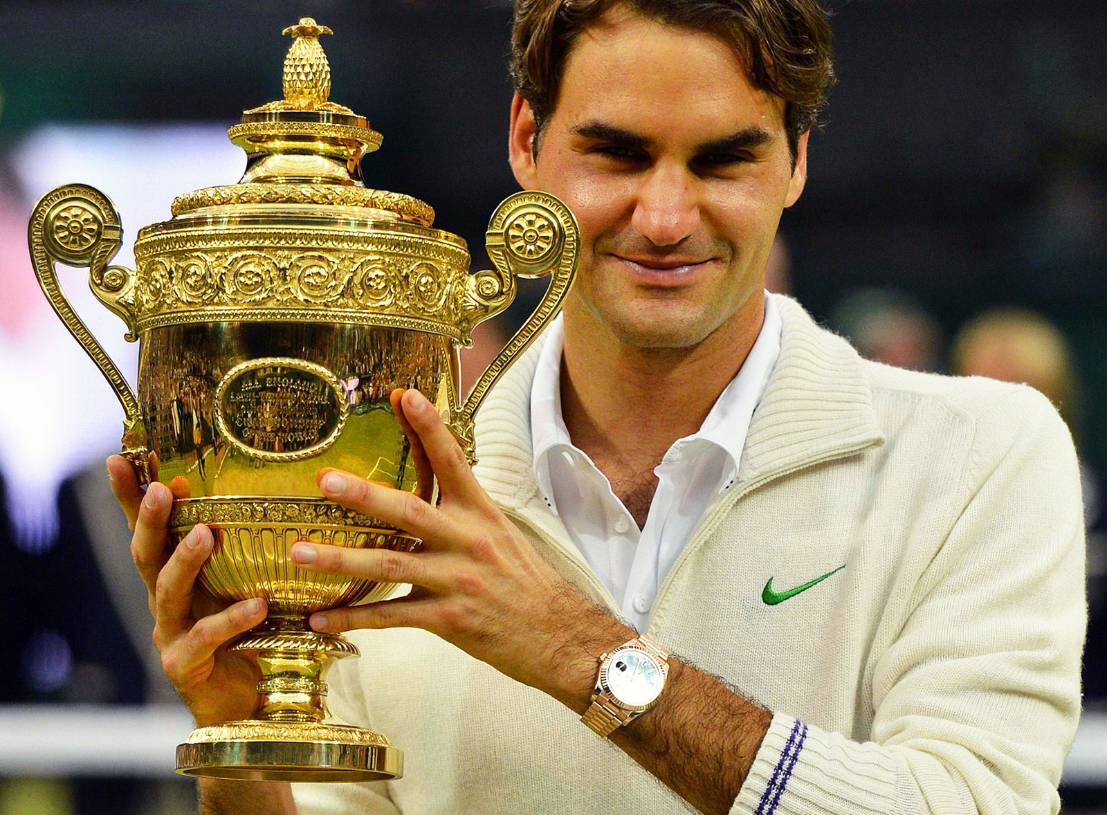 Roger Federer fans love him