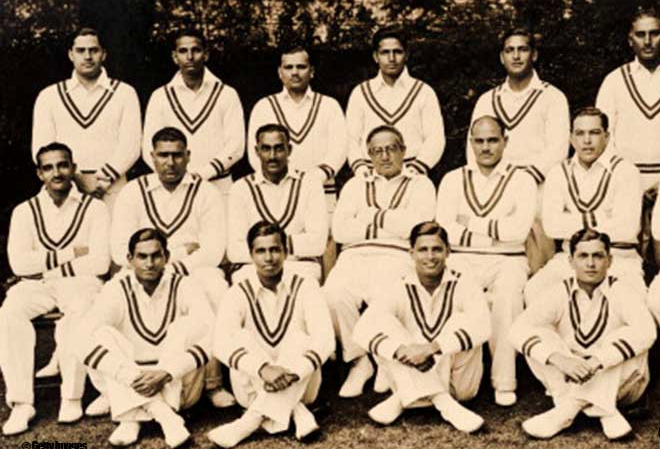 indian cricket team in 1936