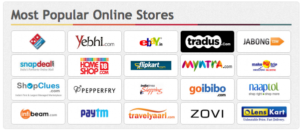 Top 10 online shopping sites in india for Great places to shop online