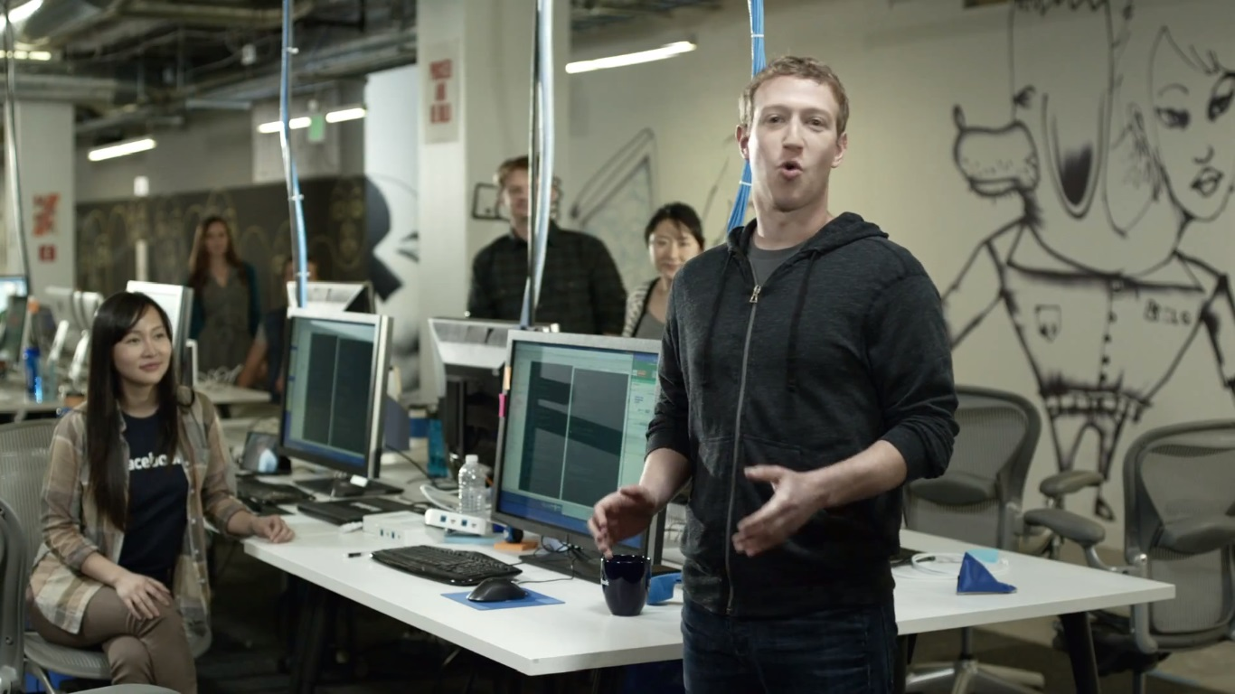 Design Home Office Online Mark Zuckerberg S New Facebook Headquarter Makes Him