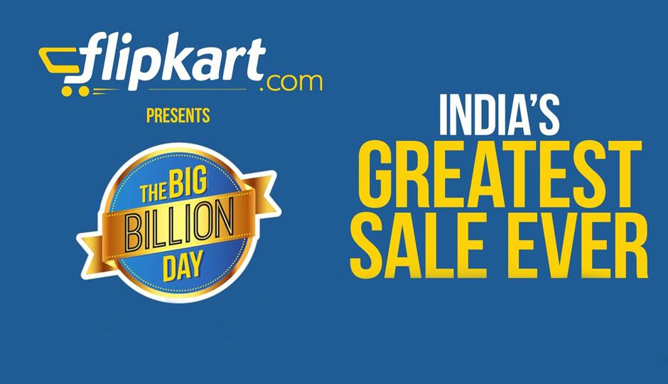 Flipkart's app-only Big Billion Days sale on 13-17 Oct