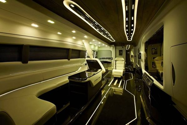 interior of shahrukh khan vanity van