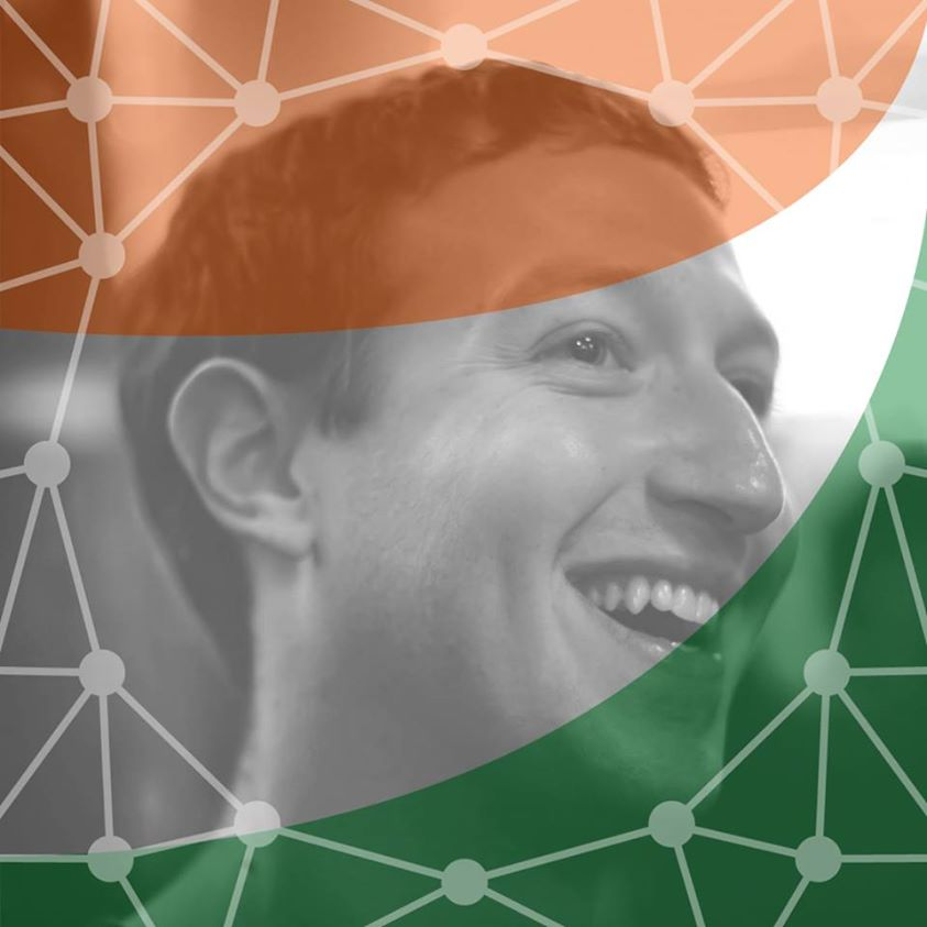mark zuckerberg changed his profile picture into indian flag
