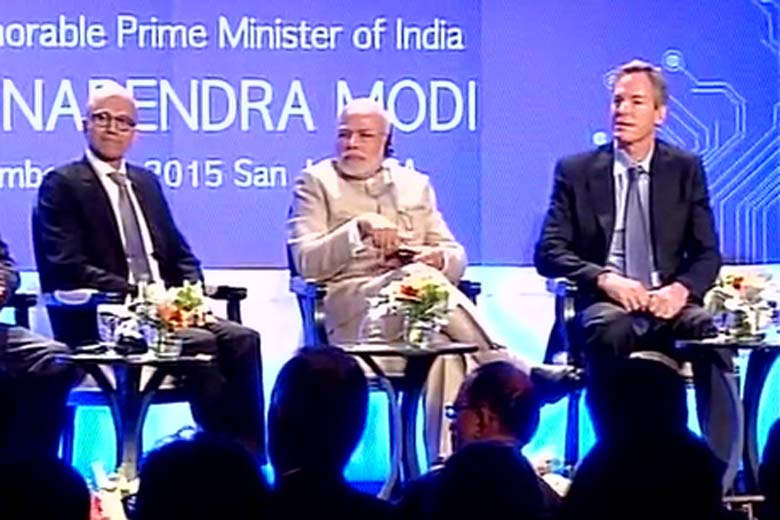 5 Key Announcements By US Tech Titans During PM Modis Visit To Silicon Valley