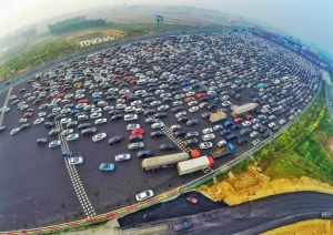 Bejing Traffic Jam 1
