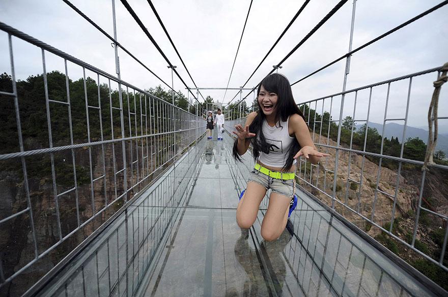 Chinas glass bottom walkway