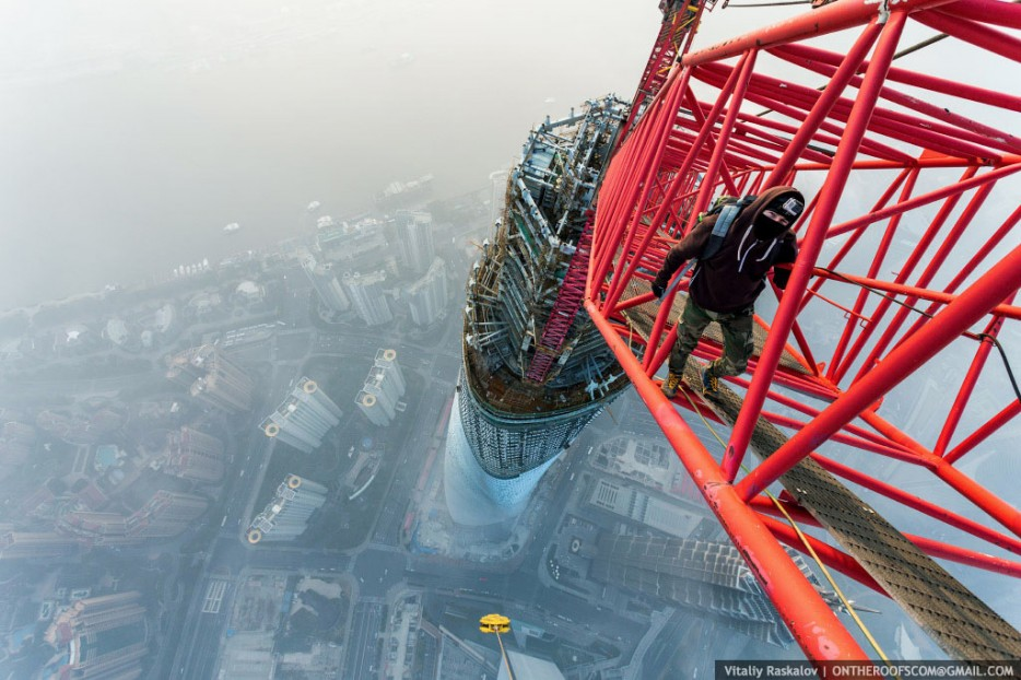 The shanghai tower tallest building in china