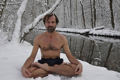 Wim Hof real life Iceman