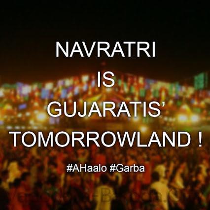 navratri is tomorrowland of gujarat