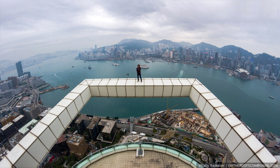 on the roof project in hong kong
