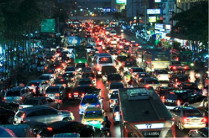 What If You Were Stuck In Traffic For 5 Days ?