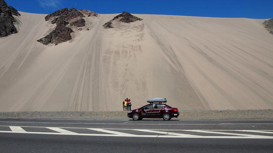20 stored dunes in Korla