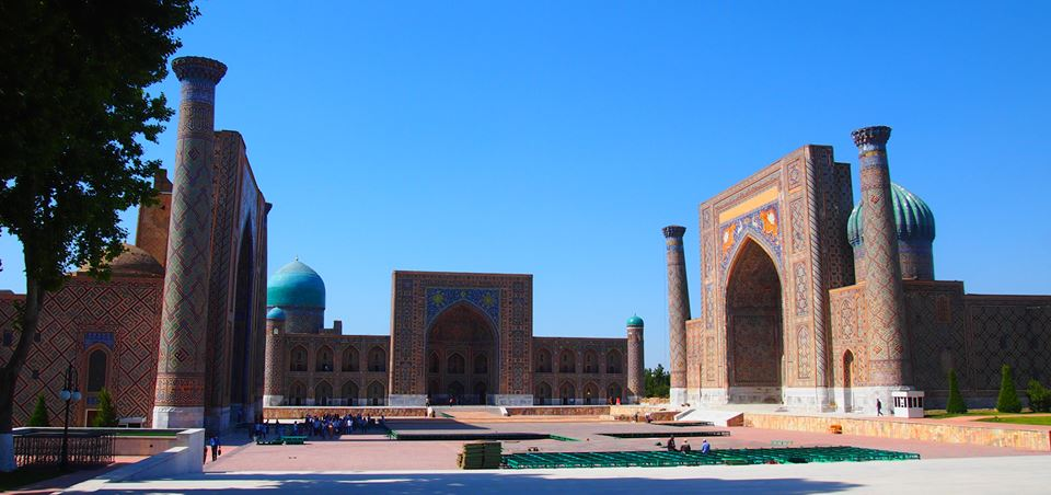 If you are in Uzbekistan, you cant miss to have a look at the majestic Registan in Samarkand