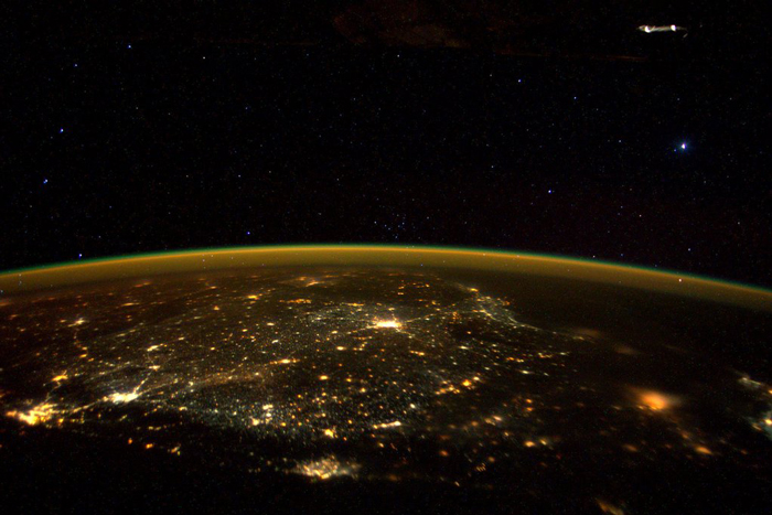 NASA Posted A Real Picture Of India On Diwali Night And India Looks Beautiful From Space