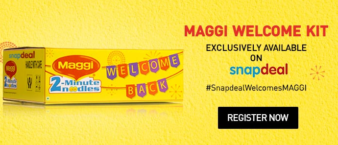 Maggi Up For 'Flash Sale' On Snapdeal