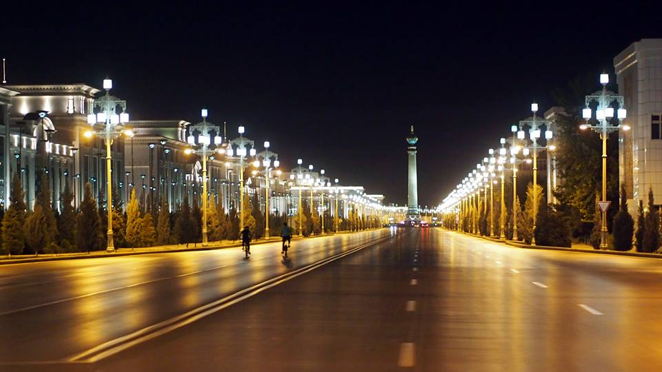 The capital of Turkmenistan Ashgabat has some of the cleanest roads in world