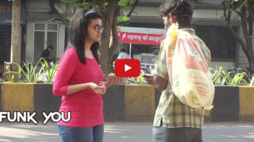This Video Of A Beggar Speaking English & Has IPhone But Asks Others To Recharge Is Hilerious