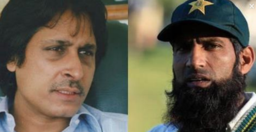 Checkout How Mohammad Yousuf And Ramiz Raja Insult Each Other On News Channel