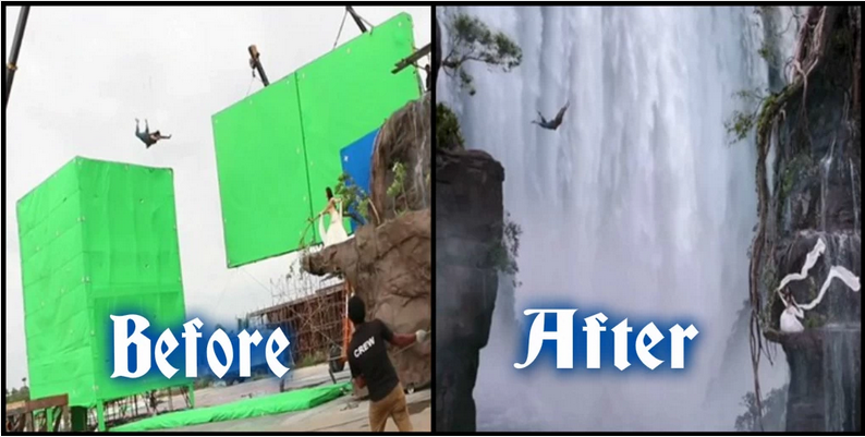Waiting For Baahubali Part 2 ? Did You Know How Difficult It Was To Shoot These 10 Epic Scenes Of BAAHUBALI