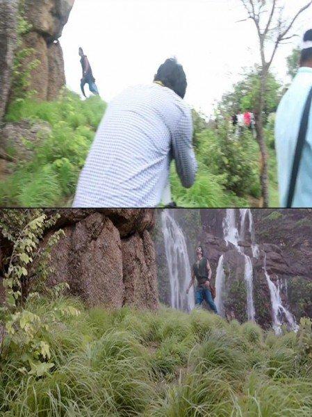 bahubali mountain climb scene vfx effects editing