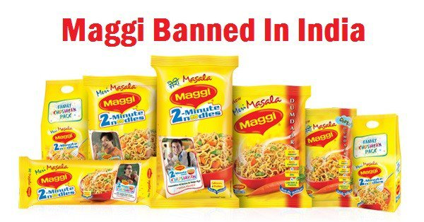 maggie banned in india