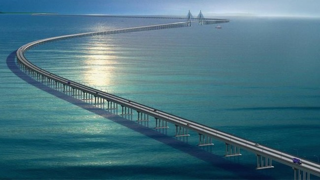 sea bridge from india to srilanka
