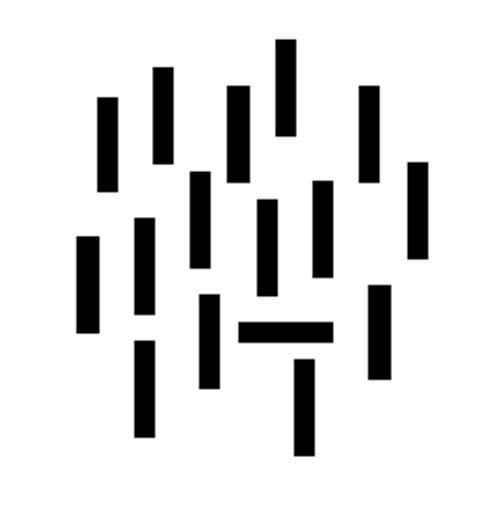 spot horizontal black bar