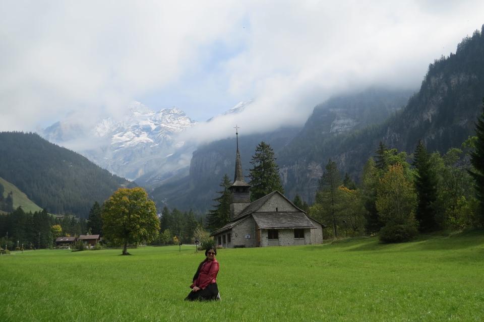 trip to Bernese Oberland Switzerland