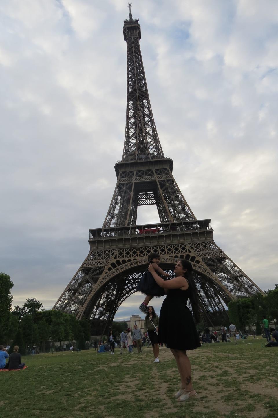 trip to Eiffel Tower Paris