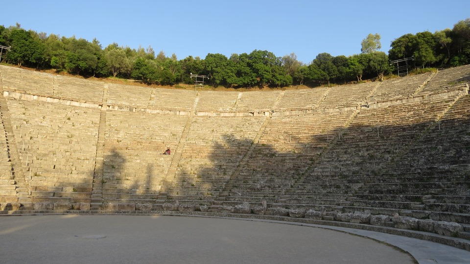 Epidavros theatre Greece