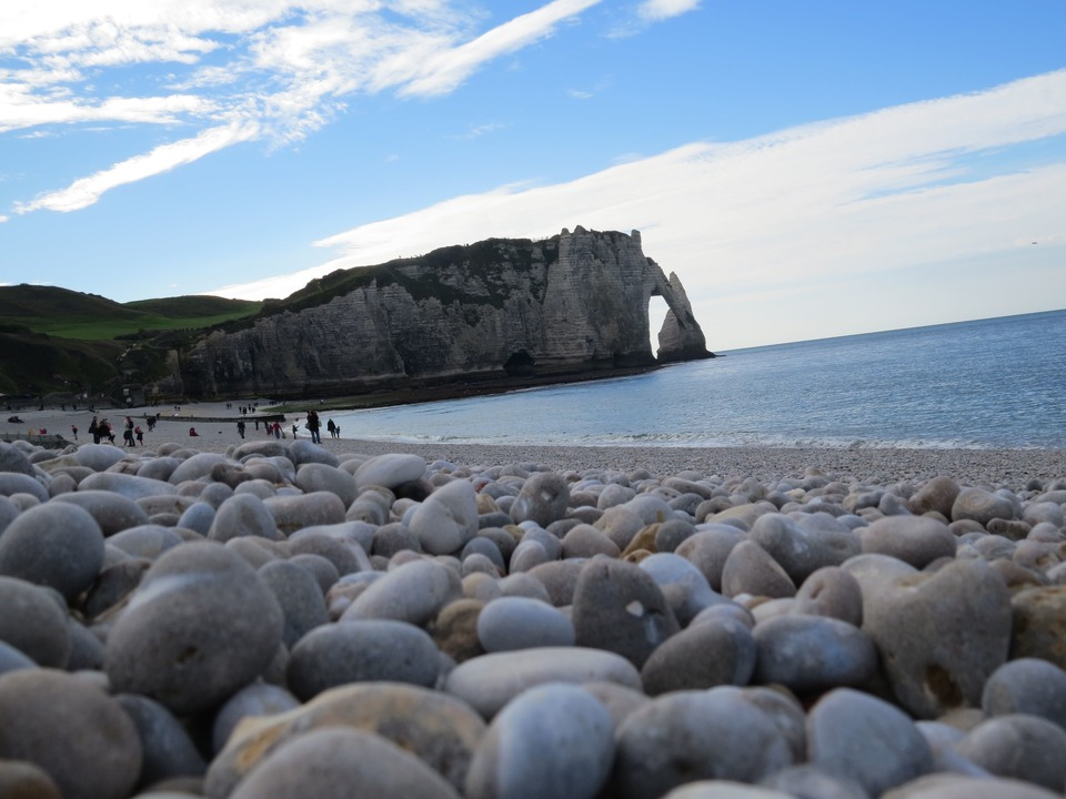 Trip to Etretat Normandy France