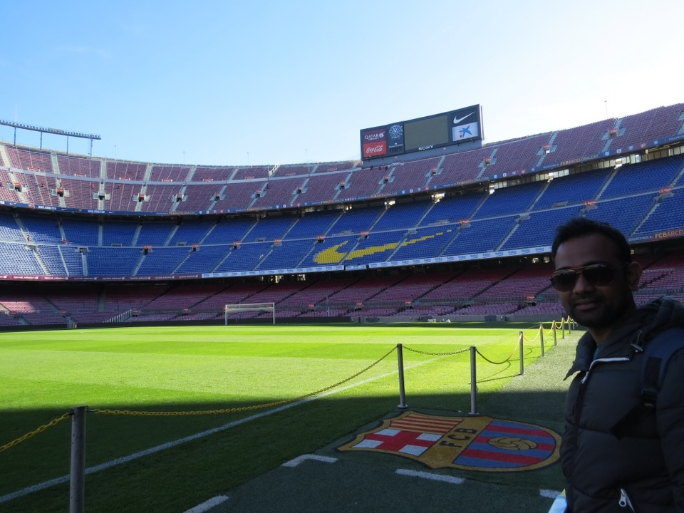trip to FootBall Club Barcelona