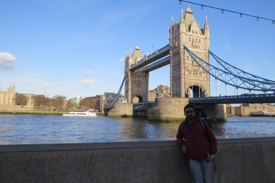 trip to London Tower Bridge