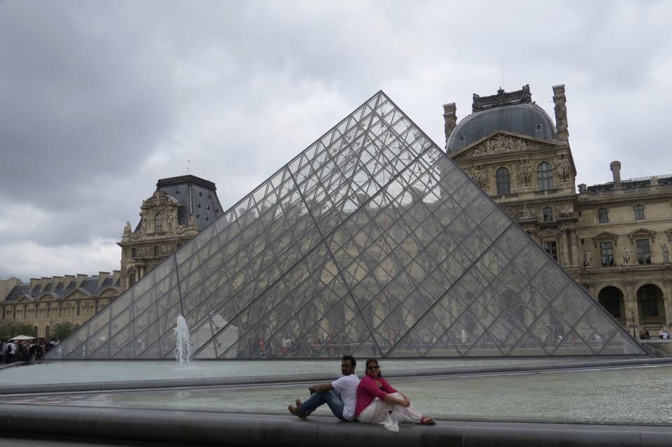 Trip to Louvre Paris